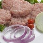Información nutricional de la hamburguesa de pavo