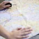 Clases de mapas en geografía