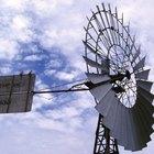 Molinos de viento que generan electricidad