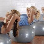 ¿Puedes quemar la grasa de la parte baja del abdomen con una pelota de equilibrio?
