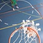 Distancia de la línea de tiro libre desde un aro de basketball