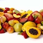 ¿Qué tipos de frutas y vegetales pueden comer los pájaros?