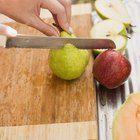 How to Stop Cut Up Apples & Pears From Turning Brown