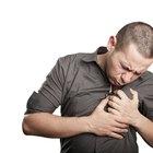 Síntomas de sudores, escalofríos, fatiga y náuseas