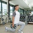 ¿Qué músculos trabajan las estocadas inversas?