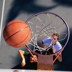 Radio de un aro de baloncesto