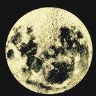 Actividades con platos de papel sobre las fases de la luna