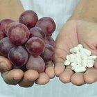 ¿Cuál es la dosis recomendada para el extracto de semilla de uva?