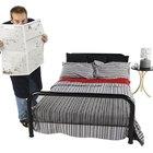 Cómo usar una cama individual como sofá