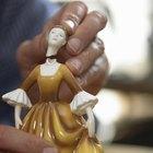 Cómo arreglar una figura de cerámica rota