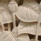 Instrucciones sobre cómo mezclar arcila caolín seca para una escultura