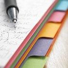 A List of Organizational Skills