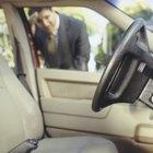Retiro de un interruptor de encendido en un Chevy Blazer