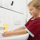 Diferentes lecciones sobre higiene para niños en edad preescolar