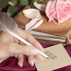 Etiquette of Addressing Wedding Invitations in Ink