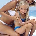 ¿Cómo aliviar el dolor que se produce en los niños por una fuerte quemazón solar?