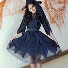 Como hacer un disfraz casero de bruja en Halloween para una adolescente