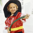 How to Make a Homemade Kid's Fireman Costume