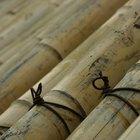Cómo hacer ataduras de bamboo