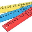 Actividades de matemáticas usando centímetros para segundo grado
