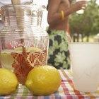 Datos nutricionales del jugo de limón concentrado