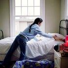 ¿Cuál es la altura promedio de una cama?
