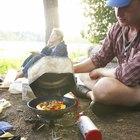 Comida no perecedera para acampar