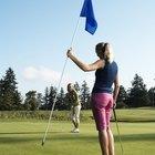 ¿Qué palos de golf utilizar para realizar un pitch o un putt?