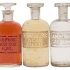 Experimentos de titulaciones ácido-base