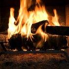 Cómo apagar un incendio de chimenea con sal