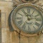 Cómo identificar relojes antiguos de pared