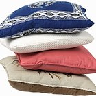 Cómo hacer almohadas para calentar en microondas
