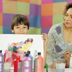 Proyectos de arte con pintura para niños