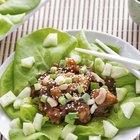 How to Make Easy Lettuce Wraps