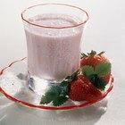 ¿Los batidos de leche son malos para ti?