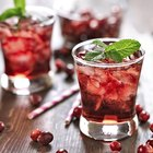 Cranberry Drinks Made With Gin
