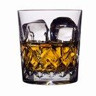 Calorías en el whisky y el vodka