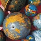 Cómo hacer un Planeta Tierra con una bola de poliestireno
