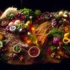 Alimentos alcalinos que proporcionan oxígeno y enzimas al cuerpo