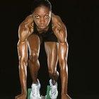 La respiración anaerobia y correr a máxima velocidad