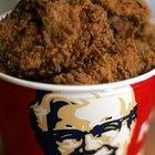 Guía calórica para KFC