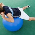 Ejercicios con pelota de estabilidad para tendonitis en hombro y postura.