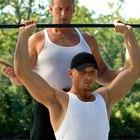 Qué músculos trabaja el press militar con barra