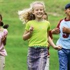 Actividades para niños pequeños con el juego de la papa caliente