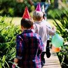 Actividades con herradura de madera para cumpleaños de niños