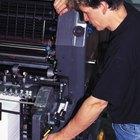 El equipamiento necesario para una imprenta
