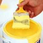 Cómo dibujar una línea delgada en pintura