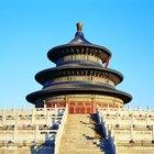 ¿Cuáles son algunos de los monumentos importantes en China?