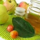 Los usos del vinagre orgánico de sidra de manzana sin refinar