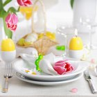 Ideas for Cheap Easter Table Decorations